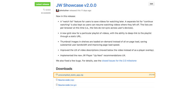 Jwplayer example download